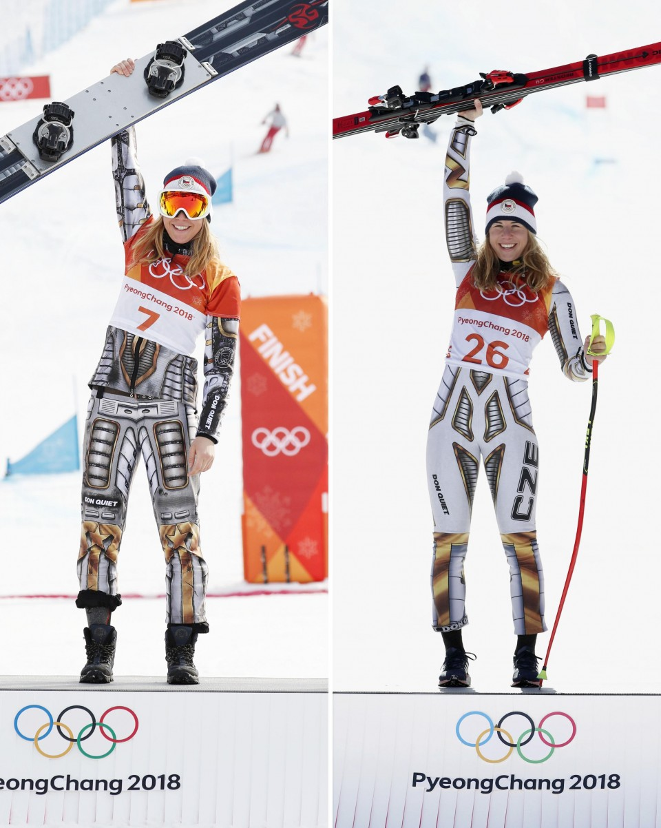 Ledecka crowned in women's parallel giant slalom at Pyeongchang Olympics
