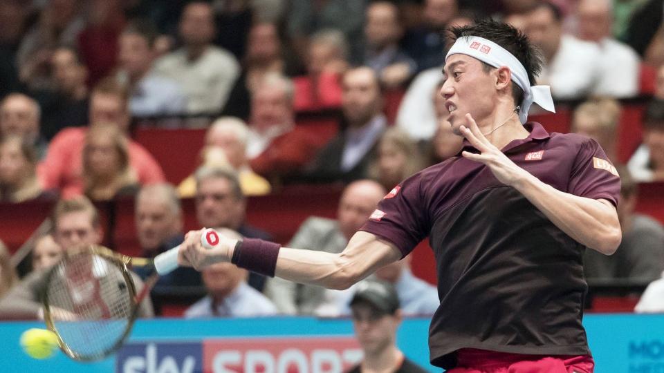 Tennis Kei Nishikori Upset By Kevin Anderson In Erste Bank Open Final