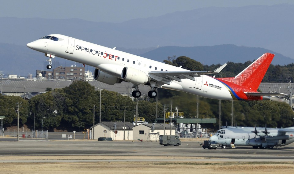 Mitsubishi Heavy mulls near freeze of regional jet development