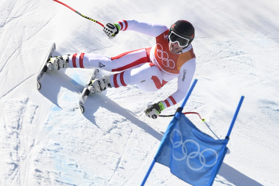 Olympic Men's Alpine Skiing Results 2018: Aksel Lund Svindal Wins Downhill Gold