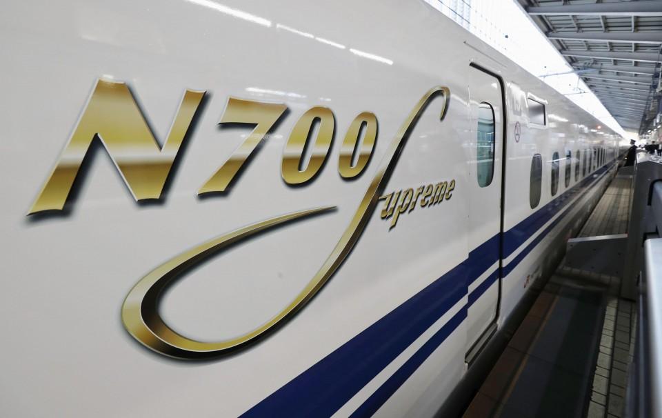Novo trem-bala japonês se aproxima da estreia 1