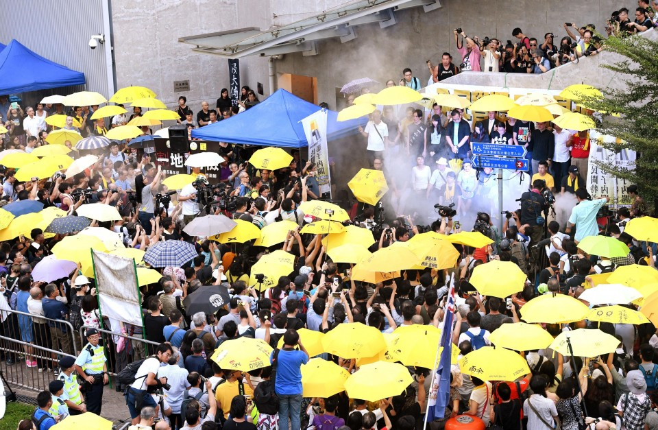 HK activists win chance to appeal prison terms