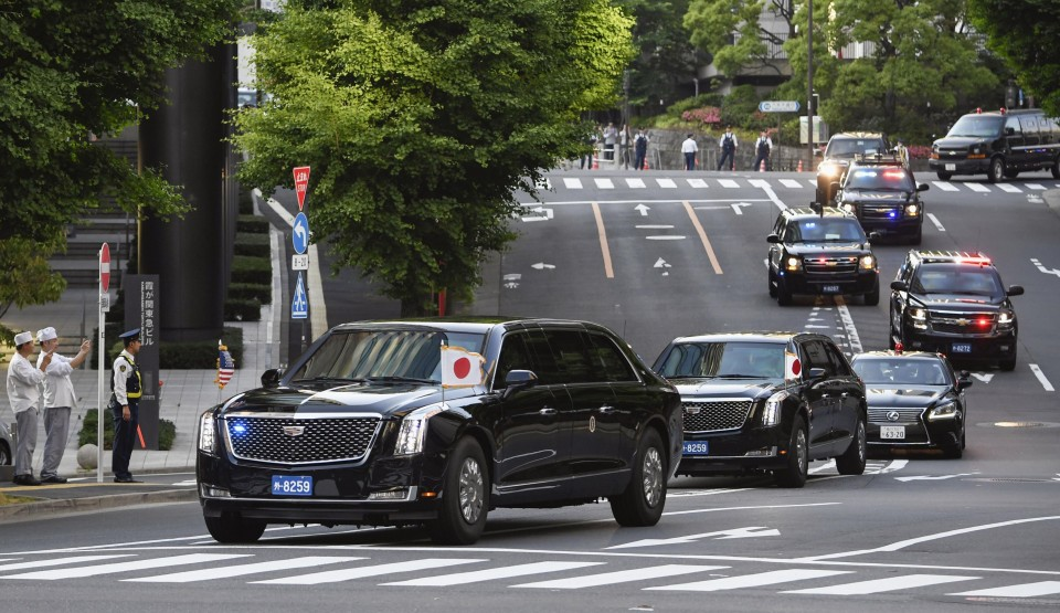 M5 1 Quake Hits Tokyo Vicinity Hours Before Trump S Arrival