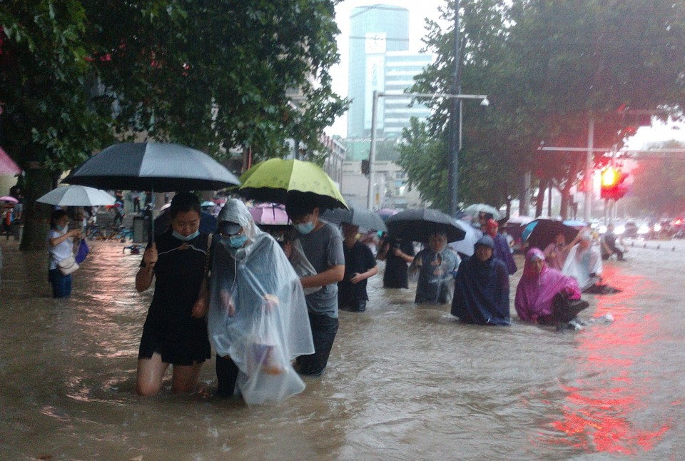 12 killed in heavy rains in China's central province of Henan