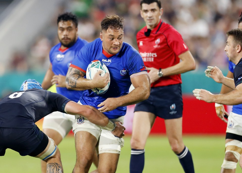 Ireand beat Samoa to seal place in quarter-finals