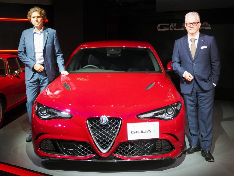 Alfa Romeo high-end sedans to be launched in Japan