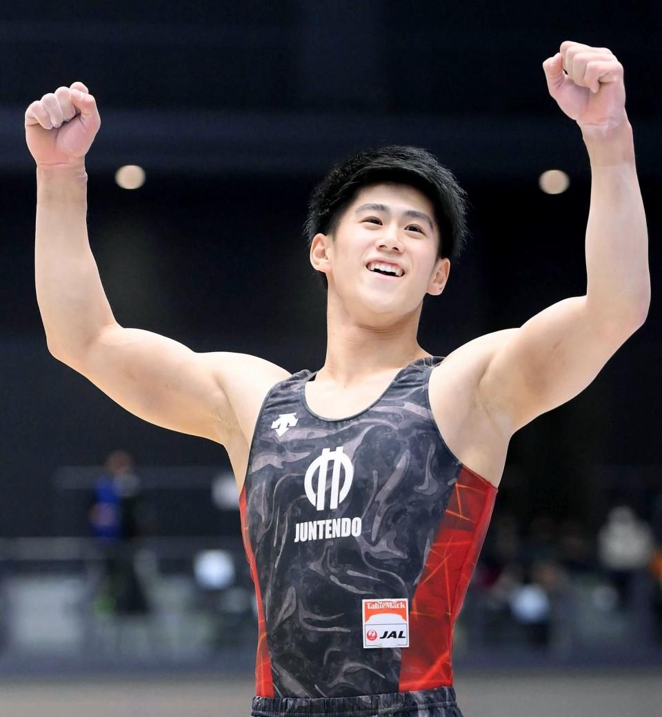 Gymnastics: Daiki Hashimoto wins Japan nationals, leads race to Olympics
