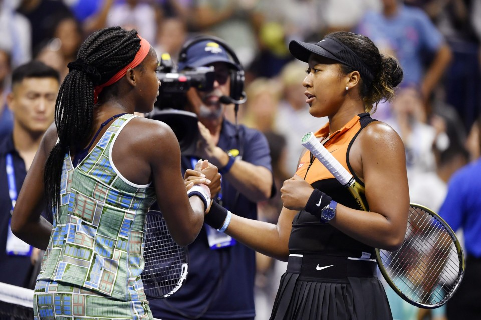 Naomi Osaka had classy gesture for Coco Gauff after match